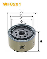 Фильтр топлива CHRYSLER WF8201/PP946/1 (производитель WIX-Filtron) WF8201