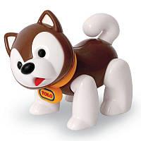 Хаски коричневый, фигурка серии Первые друзья, (в упаковке), Tolo