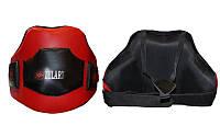 Защита корпуса (жилет) тренера PU ZELART  (безразмерный, красно-черная)