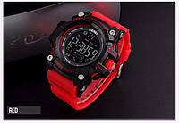 Оригинальные Smart часы Skmei 1227 Red | Cмарт Bluetooth | Спортивные мужские часы