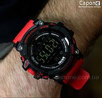 Фото! Skmei 1227 Gold смарт Bluetooth | Спортивные мужские часы, фото 1