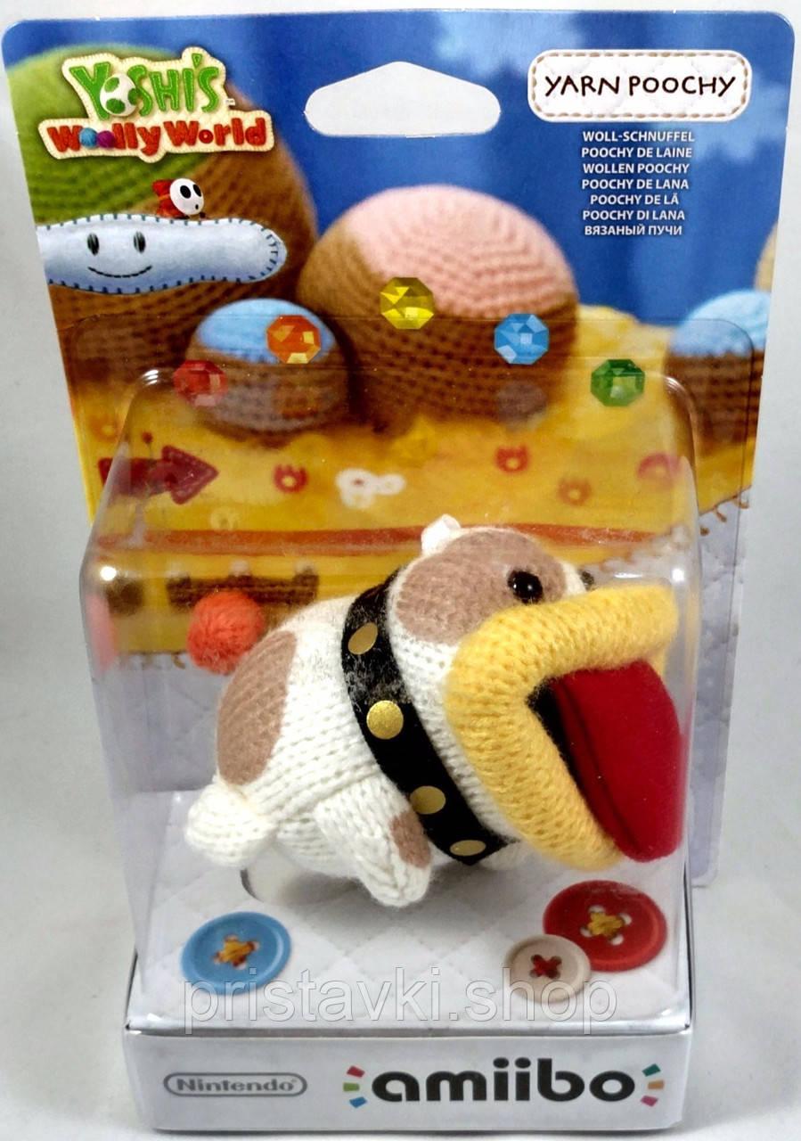 Amiibo Yoshis Woolly World - Yarn Poochy