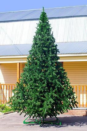 Ялинка штучна ( сосна ) 4 метри , темно зелена, фото 2