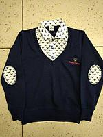 Стильный  свитер-обманка Armani на мальчика 110-140