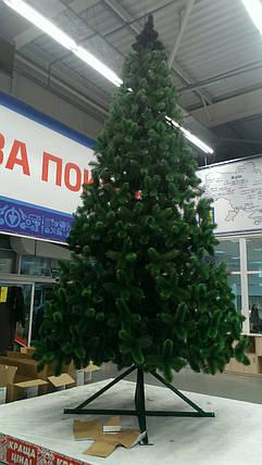 Ёлка искусственная ( сосна ) 4 метра , темно зелёная, фото 2