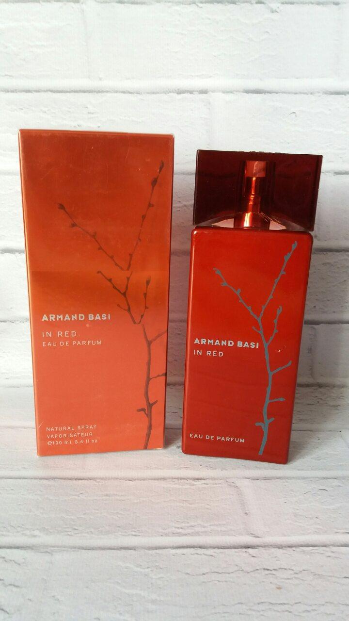 armani red perfume