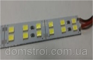 Светодиодная линейка Biom Premium SMD 5730 144 LED 30W 12V, IP20 белый, фото 2
