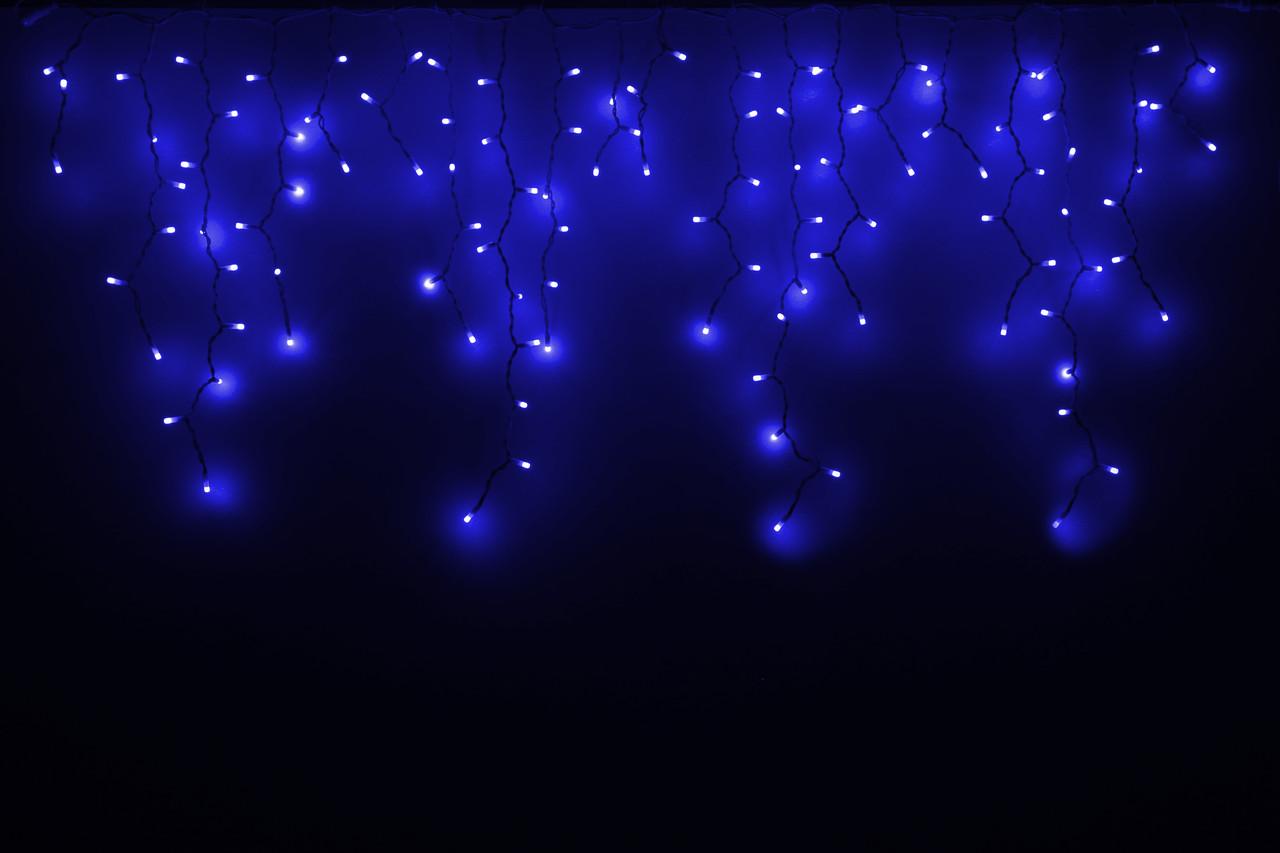 Гірлянда зовнішня DELUX є icicle 120LED 2x0.9m синій/білий IP44 EN