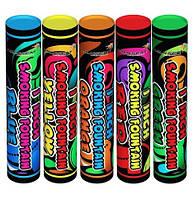 Набір кольорового диму 5-ть шашок+димні кульки в подарунок, цветной дым, дымовые шашки, набор дыма