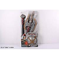 Рыцарский набор 6903-6904-6906 меч, доспехи, шлем