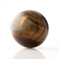Шар нат камень сувенир Соклиный глаз d-3см