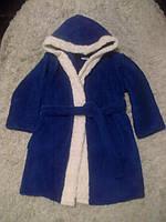 Детский махровый халат на мальчика