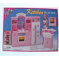 "Кухня ""Gloria"" 24016 батар.,холодильник,газплита,мойка,в кор.43*30*6см"