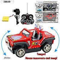 Машина на аккумуляторе, радиоуправление, арт 23812D