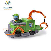 Щенячий патруль:  спасательный буксирный катер с фигуркой Рокки SM16601-14 R Spin Master