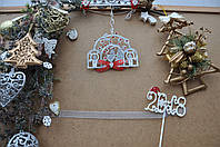 Рождественское украшение девочка загадывающая желание