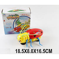 Муз.животное 6C169-88 жук,батар,свет,ходит,в кор.18,5*8*16,5см