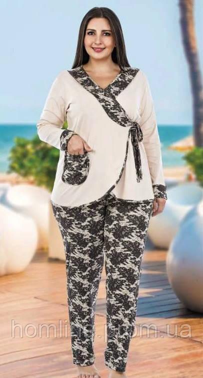 Домашняя одежда Lady Lingerie комплект 128 3XL