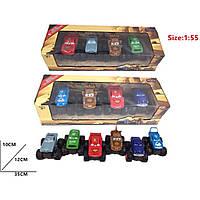 Набор машин металл DISNEY CARS3 2367-67 М1:55, 2 вида по 4героя в асс-те, в коробке