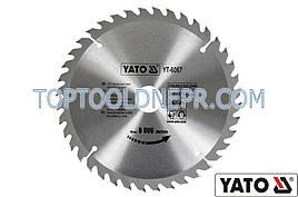 Пильный диск YATO, 210х30x3,2x2,2мм