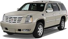 Защита заднего бампера на Cadillac Escalade (2007-2014)