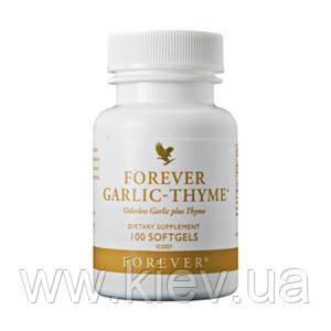 Форевер Чеснок-Тимьян (Чабрец), 100 капсул, Forever Garlic-Thyme