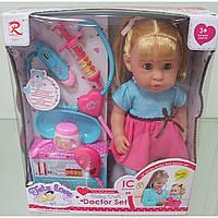 """Кукла функц 6865 муз.из """"Doc mcstuffins"""",пьет-пис,с наб.док....в кор"""