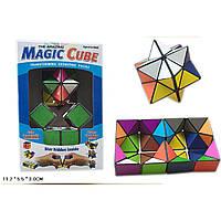 Магический Кубик 0517 цветной, в коробке 11,2*5,5*3 см