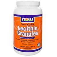 Лецитин в гранулах, Now Foods, без ГМО, 907 г