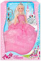"""Набор с куклой Асей """"Стиль принцессы"""" 28см в кор. 23*32,5*8см. //"""