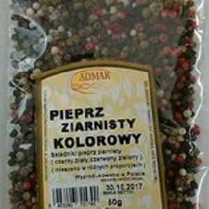 Перец горошек (смесь перцев) Admar 50 гр. Польша