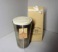 Арома свеча подарочная парфюм Премиум WOMEN  Prada Candy 200гр Д=6,5см Н=11см металл