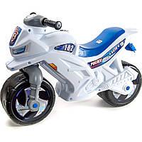 Мотоцикл двухколёсный, арт. 501_Б, белый