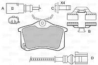 Сцепление RENAULT Megane 1.6 Petrol/Fuel 4/2003->10/2008 (Пр-во VALEO) 826303