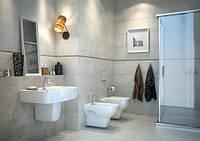 Керамическая плитка для ванной Bino Cersanit