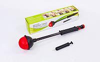 Эспандер силовой для пресса и рук Abdomen Trainer PS  (металл, пластик, резина, l-70см)