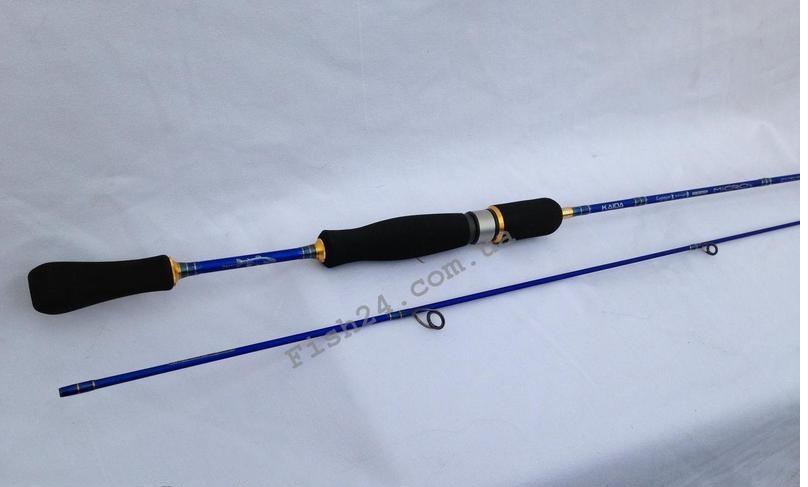 Спиннинг Kaida Micro 1.90 m (тест 2-6 g)