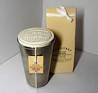арома свеча подарочная парфюм Премиум WOMEN  Lanvin Eclat D`Arpege 200гр Д=6,5см Н=11см металл