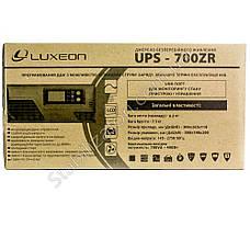 LUXEON UPS-700ZR - Лучший бесперебойник для котла - ИБП, фото 2