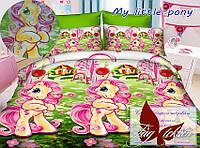 Стеганное покрывало-одеяло для детей My Little pony (160х212) (Pokryvalo-013)
