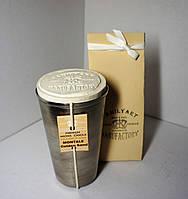 арома свеча подарочная парфюм Премиум WOMEN аромат Montale Golden Sand 200гр Д=6,5см Н=11см металл
