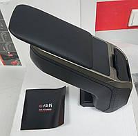 Подлокотник Suzuki Jimny '1998->'2013 ArmSter 2 Grey Sport черно-серый