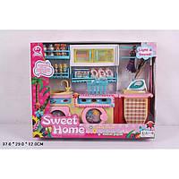 Мебель 2802S свет/звук, д/ванной,стиралка,умывальник,утюг,доска,шкафы,аксесс,в кор.37*29*12