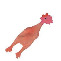 Karlie-Flamingo Chicken Small КАРЛИ-ФЛАМИНГО ЧИКЕН СМОЛЛ игрушка для собак, курица из латекса , 6х6х24 см см.