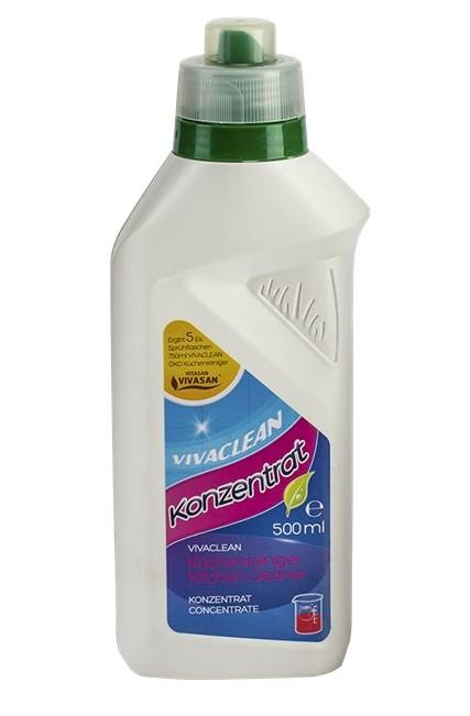 Чистящее средство для кухни, концентрированное, Viva Clean Вивасан, Швейцария, 500 мл