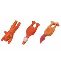Karlie-Flamingo Animals КАРЛИ-ФЛАМИНГО игрушка для собак из латекса, поросенок, цыпленок, утенок , 13х4х4 см см.
