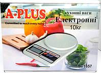 Кухонные весы A-PLUS SC-1657 до 10 кг шаг 1 грам, фото 1