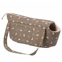 Karlie-Flamingo (КАРЛИ-ФЛАМИНГО) DOGCITY сумка переноска для собак и кошек, с рисунком , 40х25х23 см см.