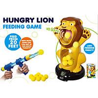 """Игровой набор """"HUNGRY LION"""" 8899 мишень,оружие,шарики в наборе"""