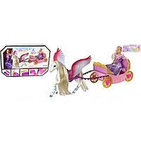 Карета 68020 с лошадкой, куколкой, в кор.